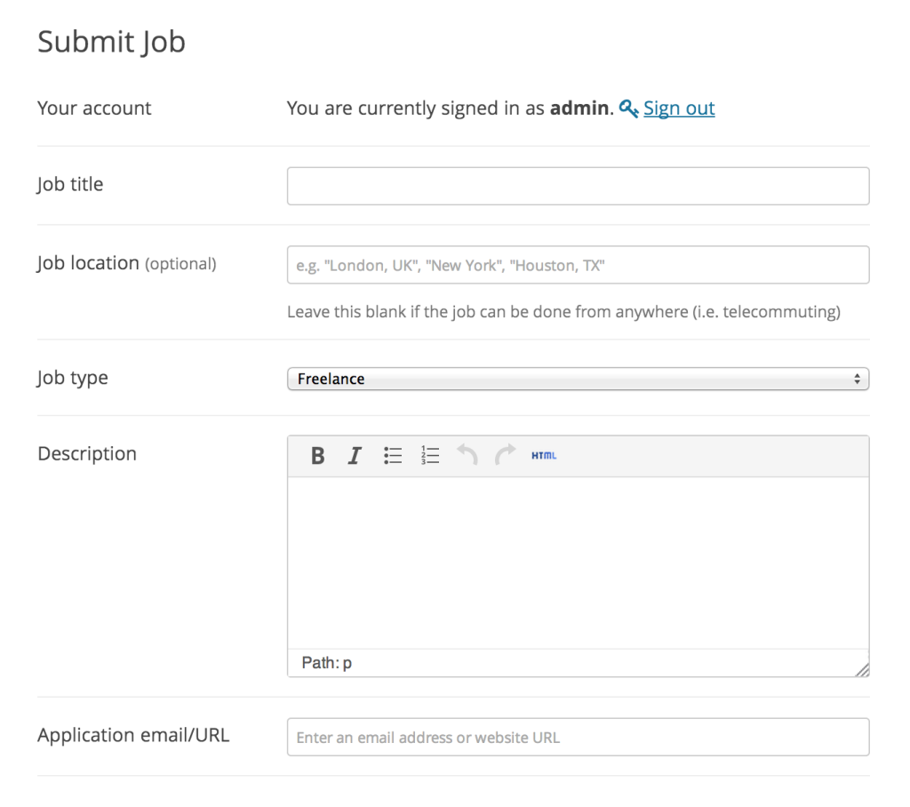 Wp Job Manager A Free Extensible Job Board Plugin For Wordpress