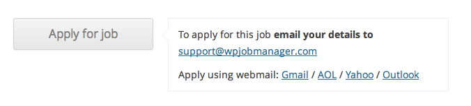 Customising The Application Process Wp Job Manager