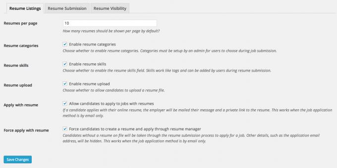 resume manager user guide